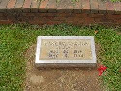 Mary Ida <i>Warlick</i> DeLoach