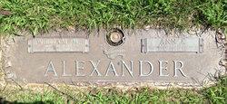 Ann J <i>Jennings</i> Alexander