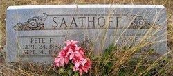 Pete F. Saathoff