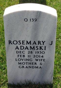 Rosemary Jean <i>Schroeder</i> Adamski