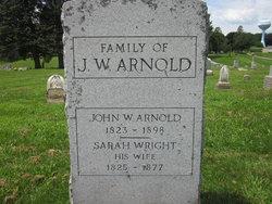 Sarah <i>Wright</i> Arnold