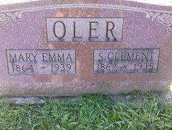 Mary Emma <i>Sheffer</i> Oler