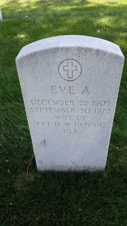Eve A Hennig