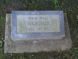 Rev Nicholas Augspurger