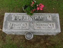 Bertha <i>Wallace</i> Burlingame
