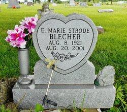 Marie <i>Strode</i> Blecher