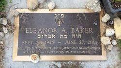 Mrs Eleanor A. <i>Bernstein</i> Baker