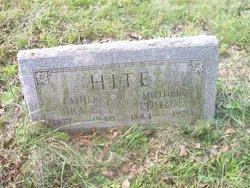 Edith E <i>Piper</i> Hite