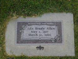 Ada Venna <i>Brady</i> Allen