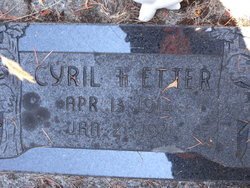 Cyril F. Etter