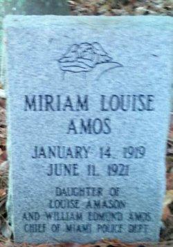 Miriam Louise Amos