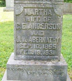 Martha Ann <i>Alley</i> Abernathy