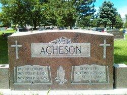 Rev Edward Eugene Acheson