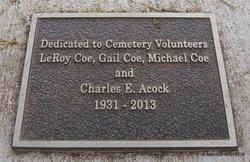 Charles Edward Chuck Acock