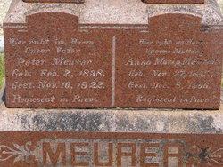 Anna Maria Josefina <i>Kunz</i> Meurer