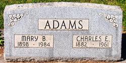Mary <i>Basham</i> Adams
