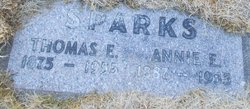 Annie E Sparks