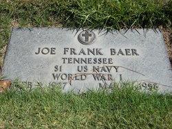 Joe Frank Baer