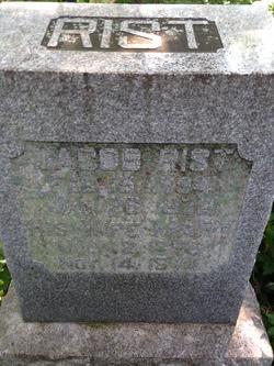 Jacob William Rist