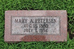 Mary Ann <i>Warnes</i> Petersen