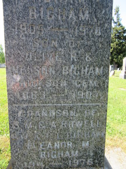 Eleanor Marie <i>MaCaulay</i> Bigham