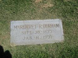 Margaret Anna <i>Richards</i> Durham