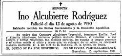 Ino Alcubierre Rodr�guez