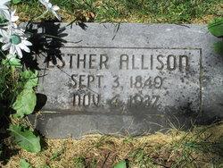 Esther <i>Wharton</i> Allison