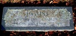 Wealthy L. <i>Peirce</i> Haskins