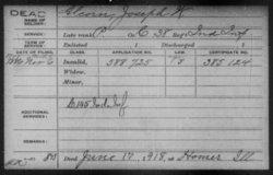Corp Joseph William Alcorn