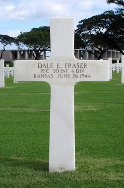 PFC Dale Edwin Fraser