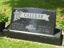 Beverly J <i>Parks</i> Callear