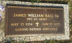 James William J.W. Ball, Sr