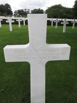 2Lt Carl A Herrmann