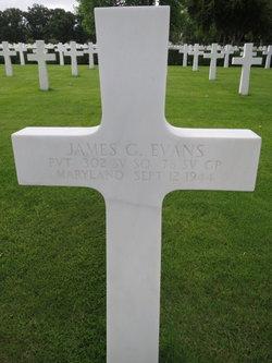 Pvt James G Evans