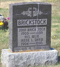 Irene Iola <i>Shaw</i> Brickstock