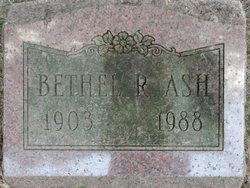 Bethel Ruth <i>Smith</i> Ash