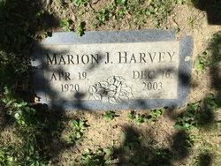 Marion J <i>Parry</i> Harvey