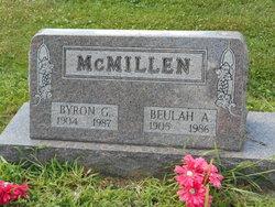 Beulah A <i>Hughes</i> McMillen
