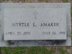 Myrtle L Amaker