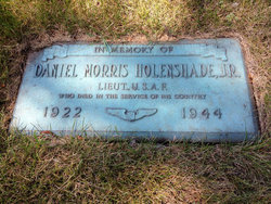 Lieut Daniel M Holenshade, Jr