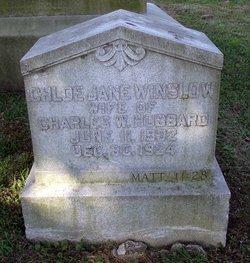 Chloe Jane <i>Winslow</i> Hubbard