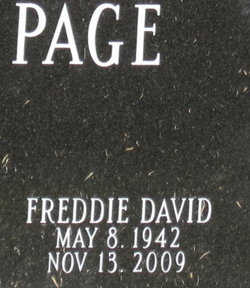 Freddie David Page, Sr
