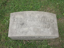 Annie <i>Wait</i> Allen