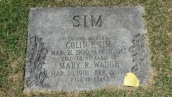 Mary Rae <i>Waugh</i> Sim