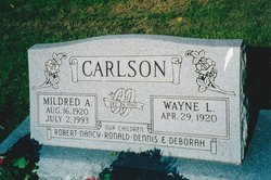 Mildred Avis Millie <i>Stein</i> Carlson