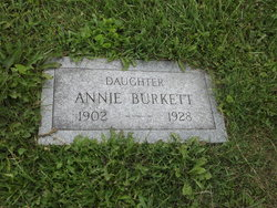 Annie <i>Burkett</i> Evans