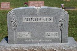 Mary Willetta <i>Adams</i> Michaels