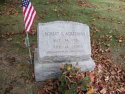 Robert E Ackerman