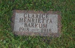 Clarice Henrietta Bakkum